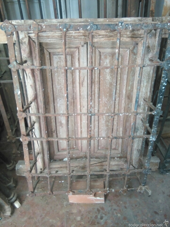 REJA SIGLO XVII (Antigüedades - Técnicas - Cerrajería y Forja - Forjas Antiguas)