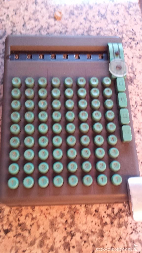 Antigüedades: antigua calculadora swiss made 19393, preciosoa - Foto 2 - 58642845
