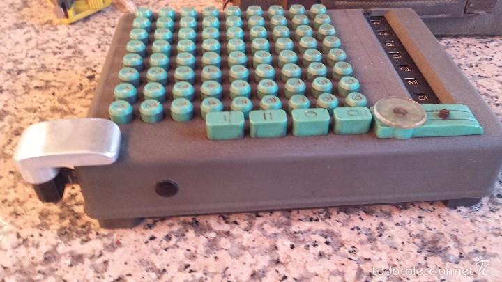 Antigüedades: antigua calculadora swiss made 19393, preciosoa - Foto 3 - 58642845