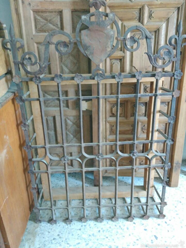 REJA DE FORJA SIGLO XVI (Antigüedades - Técnicas - Cerrajería y Forja - Forjas Antiguas)