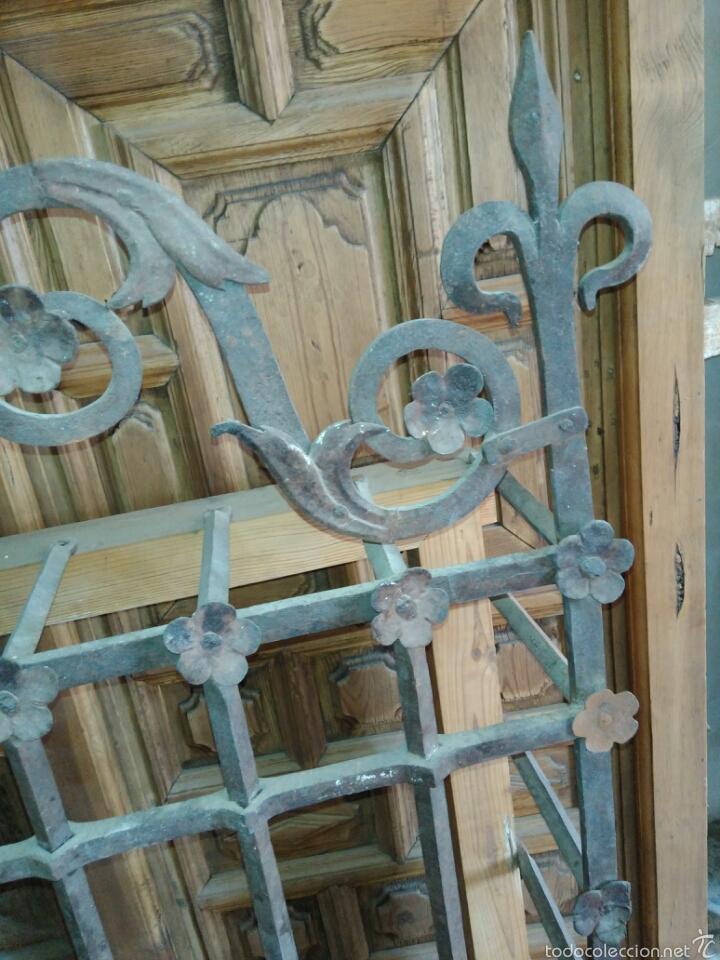 Antigüedades: Reja de forja siglo XVI - Foto 3 - 58642912
