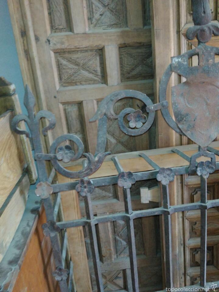 Antigüedades: Reja de forja siglo XVI - Foto 4 - 58642912