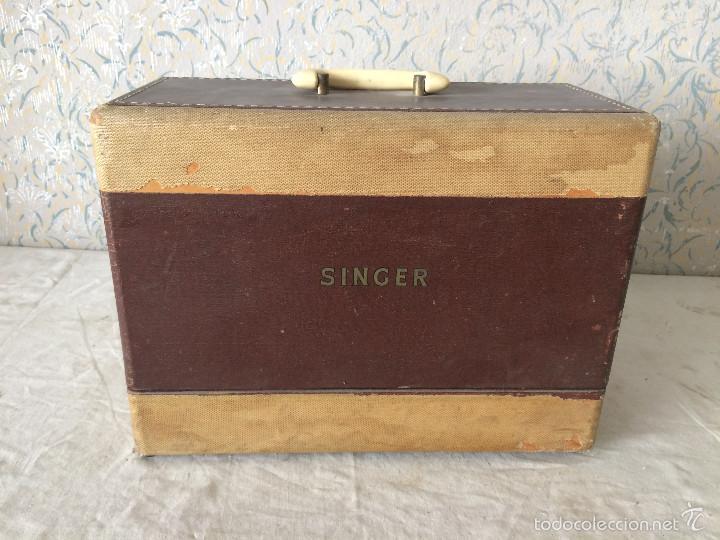 TAPA SINGER PARA MÁQUINA DE COSER. (Antigüedades - Técnicas - Máquinas de Coser Antiguas - Singer)