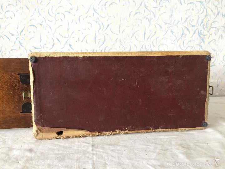 Antigüedades: TAPA SINGER PARA MÁQUINA DE COSER. - Foto 15 - 58675288