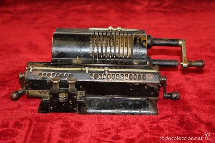 Antigüedades: ARITMÓMETRO. ORIGINAL-ODHNER. (M 602-modèle N°5) GOTEBORG. SUECIA. 1936. - Foto 2 - 58792561