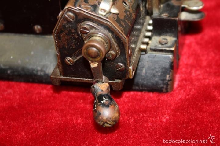 Antigüedades: ARITMÓMETRO. ORIGINAL-ODHNER. (M 602-modèle N°5) GOTEBORG. SUECIA. 1936. - Foto 6 - 58792561