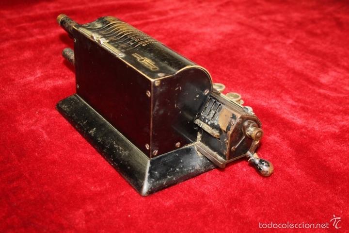 Antigüedades: ARITMÓMETRO. ORIGINAL-ODHNER. (M 602-modèle N°5) GOTEBORG. SUECIA. 1936. - Foto 7 - 58792561