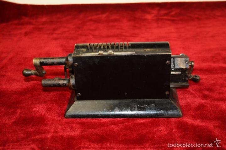 Antigüedades: ARITMÓMETRO. ORIGINAL-ODHNER. (M 602-modèle N°5) GOTEBORG. SUECIA. 1936. - Foto 8 - 58792561