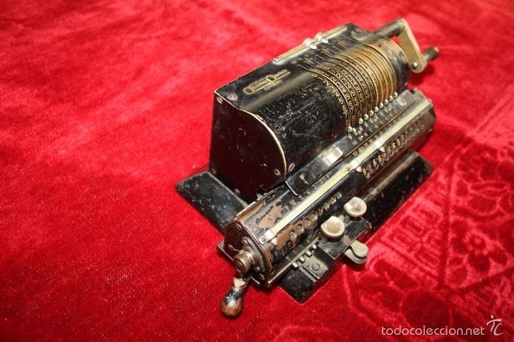 Antigüedades: ARITMÓMETRO. ORIGINAL-ODHNER. (M 602-modèle N°5) GOTEBORG. SUECIA. 1936. - Foto 9 - 58792561