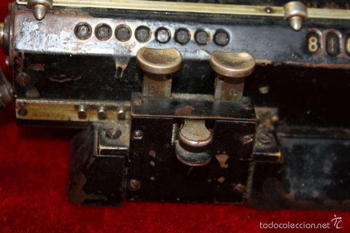 Antigüedades: ARITMÓMETRO. ORIGINAL-ODHNER. (M 602-modèle N°5) GOTEBORG. SUECIA. 1936. - Foto 10 - 58792561