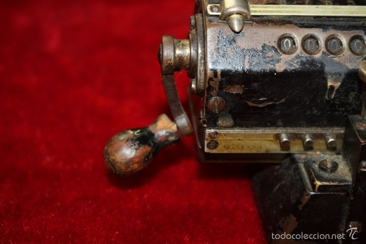 Antigüedades: ARITMÓMETRO. ORIGINAL-ODHNER. (M 602-modèle N°5) GOTEBORG. SUECIA. 1936. - Foto 11 - 58792561