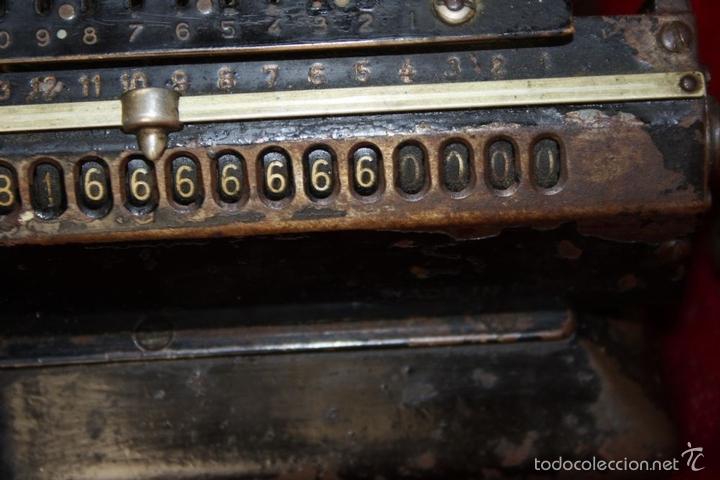 Antigüedades: ARITMÓMETRO. ORIGINAL-ODHNER. (M 602-modèle N°5) GOTEBORG. SUECIA. 1936. - Foto 13 - 58792561