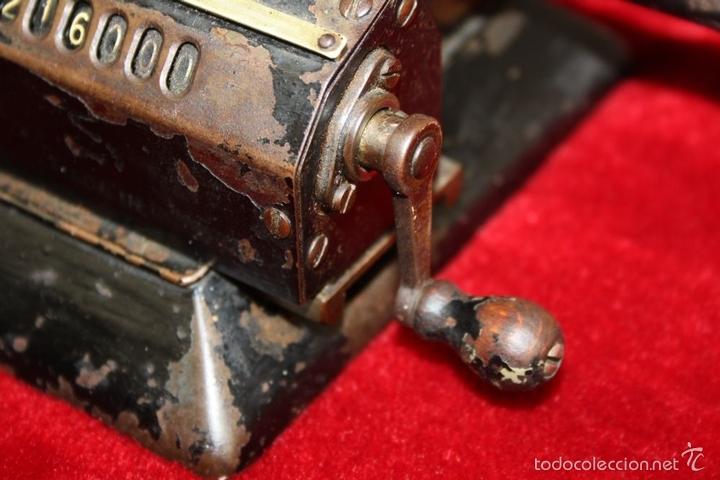 Antigüedades: ARITMÓMETRO. ORIGINAL-ODHNER. (M 602-modèle N°5) GOTEBORG. SUECIA. 1936. - Foto 16 - 58792561
