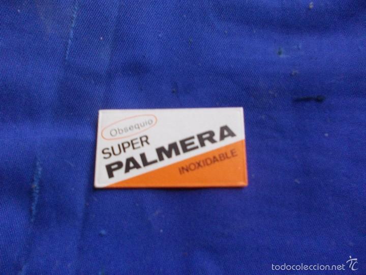 CUCHILLA PALMERA (Antigüedades - Técnicas - Barbería - Hojas de Afeitar Antiguas)
