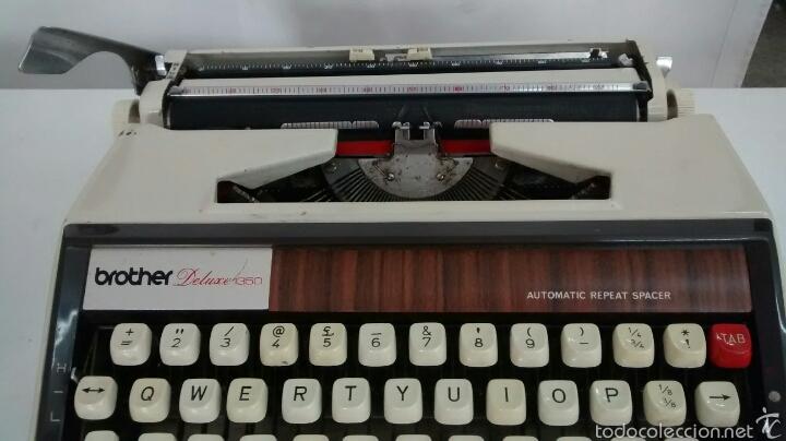Antigüedades: Maquina de escribir brother deluxe 1350 - Foto 2 - 58852331