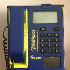 Teléfonos: ANTIGUA CABINA TELEFÓNICA DE MONEDAS DE METAL TELE TUP. Lote 58949150