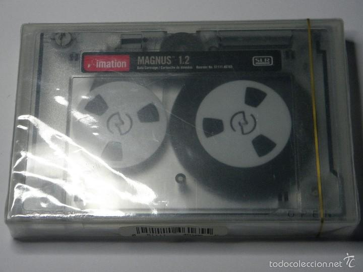 CARTUCHO DE DATOS IMATION MAGNUS 1.2 GB NUEVO (Antigüedades - Técnicas - Ordenadores hasta 16 bits (anteriores a 1982))