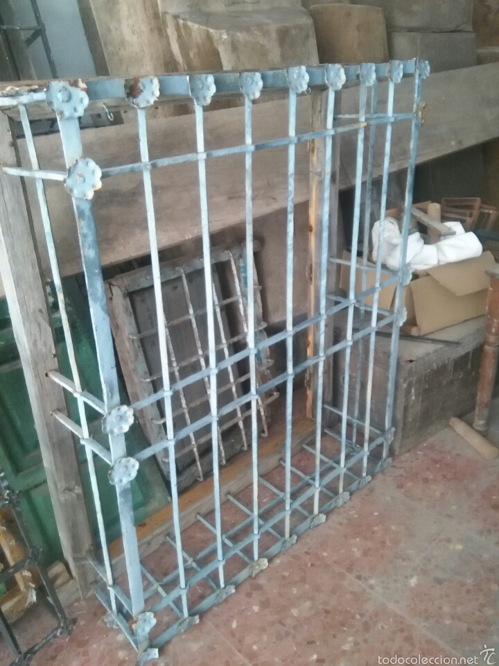 Antigüedades: Reja de forja del siglo XVII - Foto 2 - 59323160