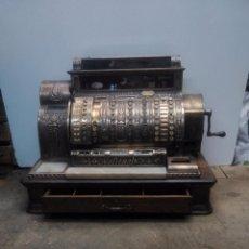 Antigüedades: IMPRESIONANTE CAJA REGISTRADORA NATIONAL. Lote 75525399