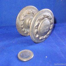 Antigüedades: TIRADOR DE PUERTA DE BRONCE. Lote 59525571