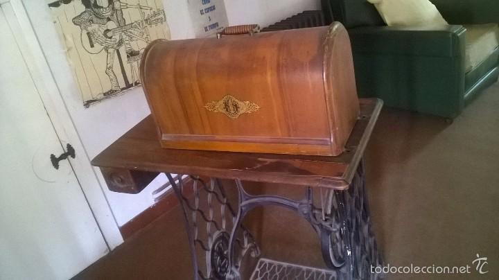 MÁQUINA DE COSER SINGER AÑO 1919 (Antigüedades - Técnicas - Máquinas de Coser Antiguas - Singer)