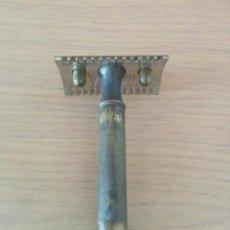 Antigüedades: ANTIGUA MÁQUINILLA EN BRONCE. Lote 59630579