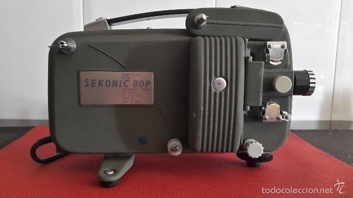 PROYECTOR SEKONIC 80P – FUNCIONANDO (Antigüedades - Técnicas - Aparatos de Cine Antiguo - Proyectores Antiguos)
