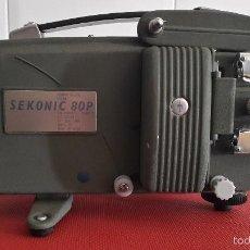 Antigüedades: PROYECTOR SEKONIC 80P – FUNCIONANDO. Lote 59695671