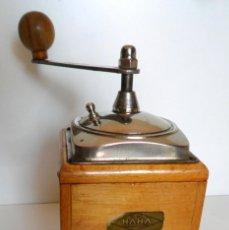 Antigüedades: MOLINILLO DE CAFÉ MARCA HAHA. ALEMANIA. CA 1945. Lote 59792048