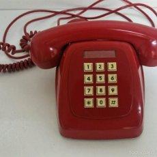 Teléfonos: TELEFONO TECLAS HERALDO CITESA - ROJO ORIGINAL VINTAGE -. Lote 59812148