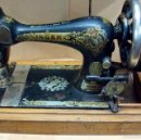 Antigüedades: ANTIGUA MAQUINA DE COSER SINGER A MANIVELA-FUNCIONA. Lote 59864672