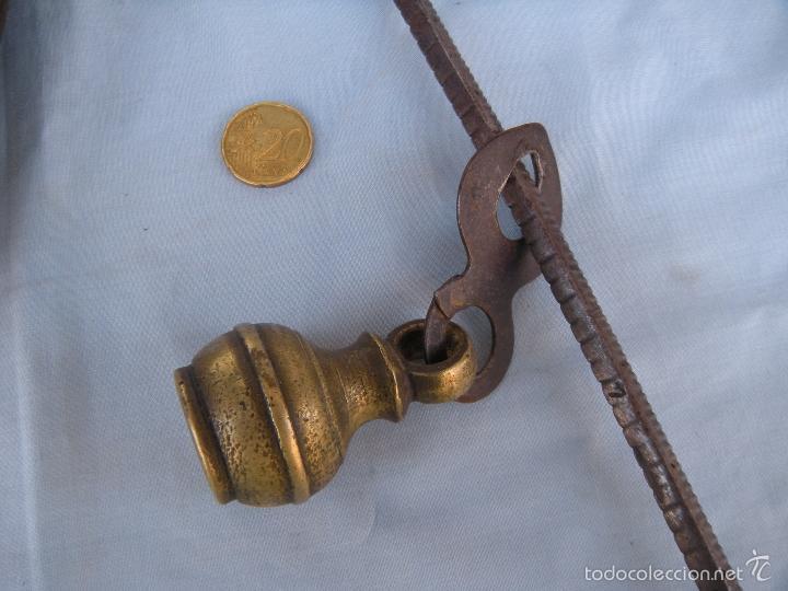 Antigüedades: ROMANA CON PLATO DE BRONCE - Foto 2 - 59875904