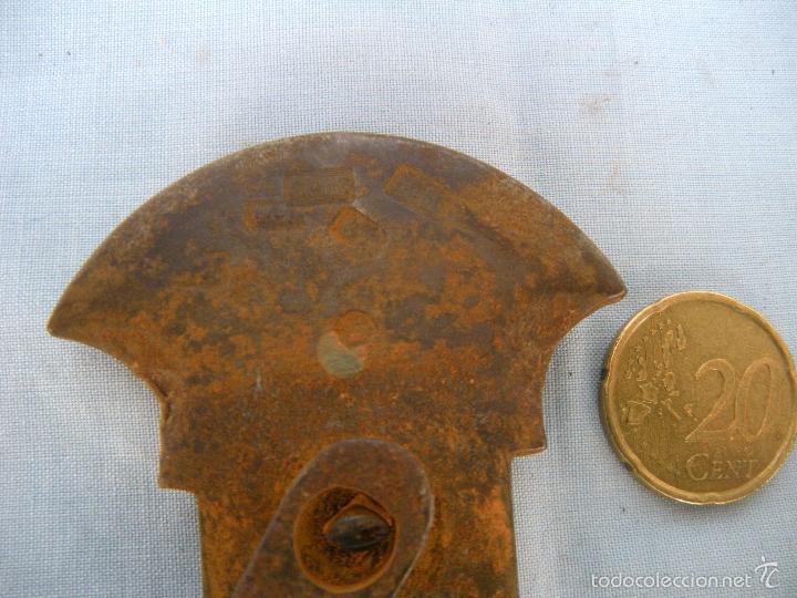 Antigüedades: ROMANA CON PLATO DE BRONCE - Foto 4 - 59875904