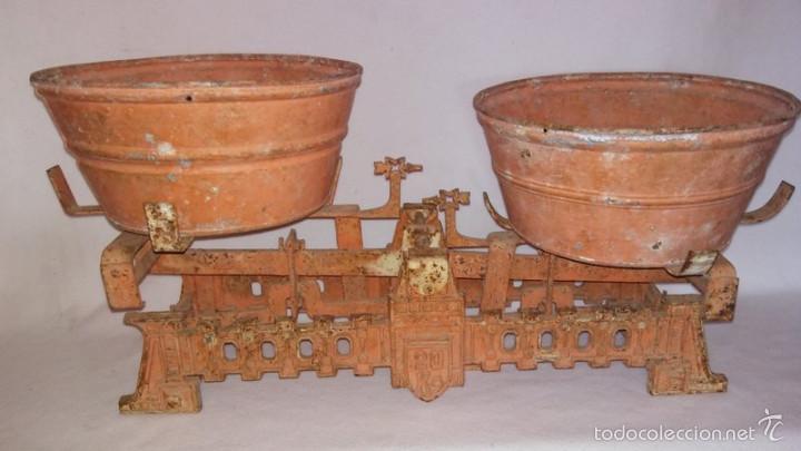 BALANZA DE PLATOS. 20KG (Antigüedades - Técnicas - Medidas de Peso - Balanzas Antiguas)
