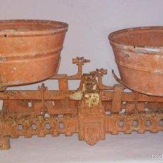 Antigüedades: BALANZA DE PLATOS. 20KG. Lote 59898723