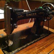 Antigüedades - Maquina de coser Singer con mueble - 60125719