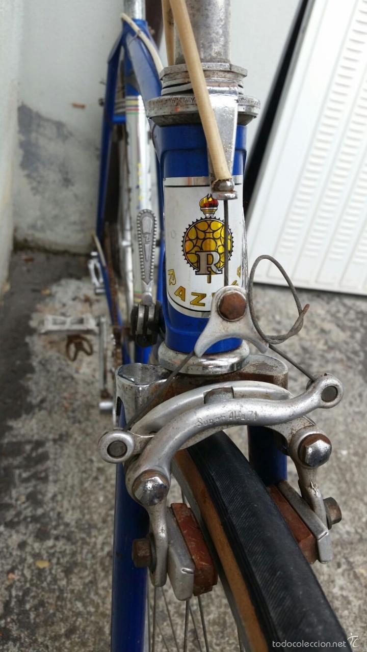 Antigüedades: BICICLETA DE CARRERAS ZEUS RACESA COMPONENTES ALFA Y ZEUS,AÑOS 60 APROX - Foto 3 - 60222643