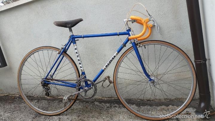 Antigüedades: BICICLETA DE CARRERAS ZEUS RACESA COMPONENTES ALFA Y ZEUS,AÑOS 60 APROX - Foto 6 - 60222643