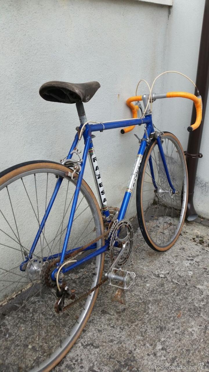 Antigüedades: BICICLETA DE CARRERAS ZEUS RACESA COMPONENTES ALFA Y ZEUS,AÑOS 60 APROX - Foto 7 - 60222643