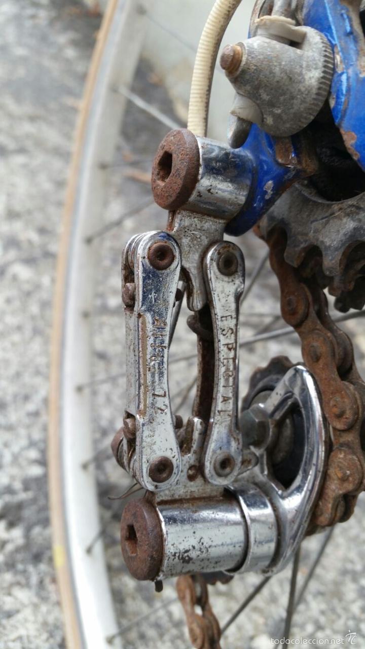 Antigüedades: BICICLETA DE CARRERAS ZEUS RACESA COMPONENTES ALFA Y ZEUS,AÑOS 60 APROX - Foto 9 - 60222643