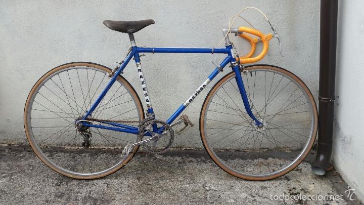 Antigüedades: BICICLETA DE CARRERAS ZEUS RACESA COMPONENTES ALFA Y ZEUS,AÑOS 60 APROX - Foto 10 - 60222643