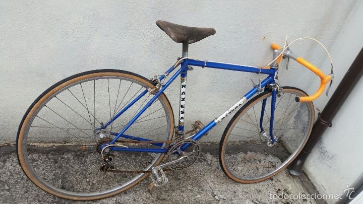 Antigüedades: BICICLETA DE CARRERAS ZEUS RACESA COMPONENTES ALFA Y ZEUS,AÑOS 60 APROX - Foto 11 - 60222643