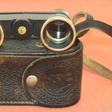 Antigüedades: BINOCULARES DE TEATRO EN BAQUELITA. FABRICADO EN RUSSIA. CIRCA 1930.. Lote 60336511
