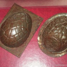 Antigüedades: MOLDES CHOCOLATE. Lote 60365731