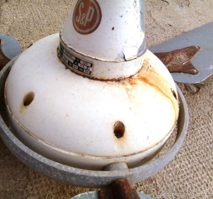 Antiguo ventilador de techo s p modelo htb 90 comprar - Ventiladores de techo antiguos ...