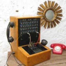 Teléfonos: DE MUSEO! CENTRALITA ANTIGUA TELEFONO BAKELITA LM ERICSSON ANTIGUO TIENDAS TELEFONIA DECORACION. Lote 60396455