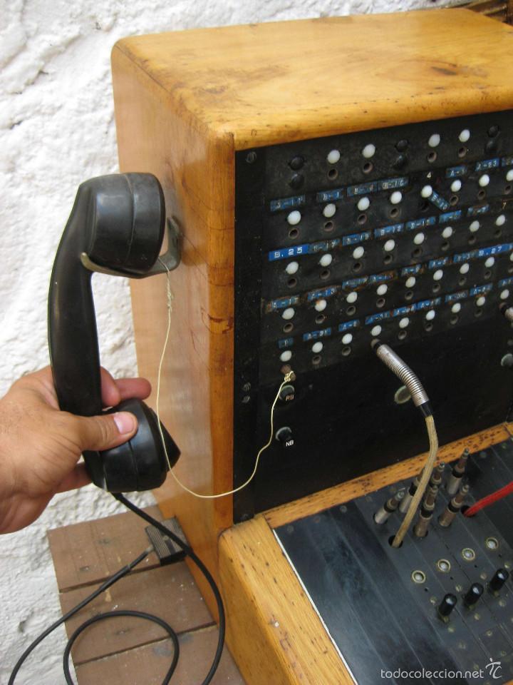 Teléfonos: DE MUSEO! CENTRALITA ANTIGUA TELEFONO BAKELITA LM ERICSSON ANTIGUO TIENDAS TELEFONIA DECORACION - Foto 6 - 60396455