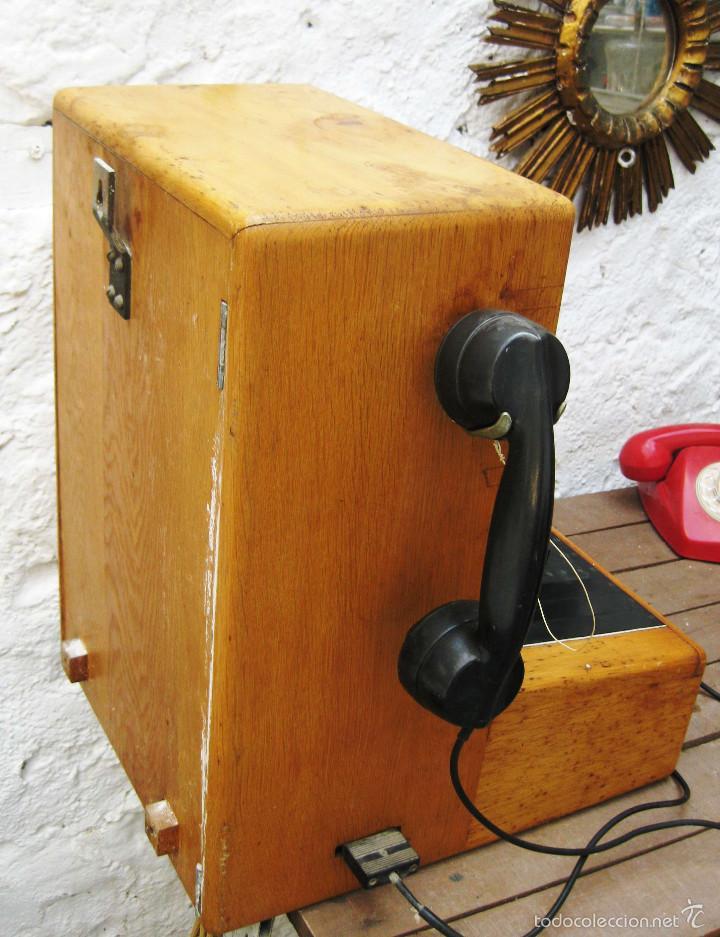 Teléfonos: DE MUSEO! CENTRALITA ANTIGUA TELEFONO BAKELITA LM ERICSSON ANTIGUO TIENDAS TELEFONIA DECORACION - Foto 11 - 60396455