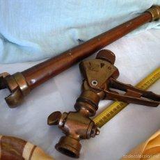 Antiquitäten - ANTIGUA LANZA DE BOMBERO. EN BRONCE. LANCE OLD FIREMAN. BRONZE: - 60453311