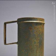 Antigüedades: ANTIGUO VASO MEDIDOR DE ACEITE DE OLIVA 1/2 LITROS- ARAGÓN. Lote 60493343